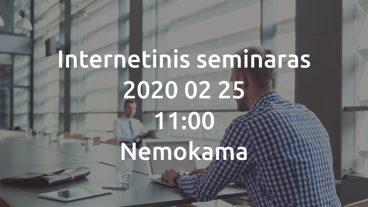Internetinis seminaras | Tikslūs duomenys sandėlio valdymo procese | Background | Softera