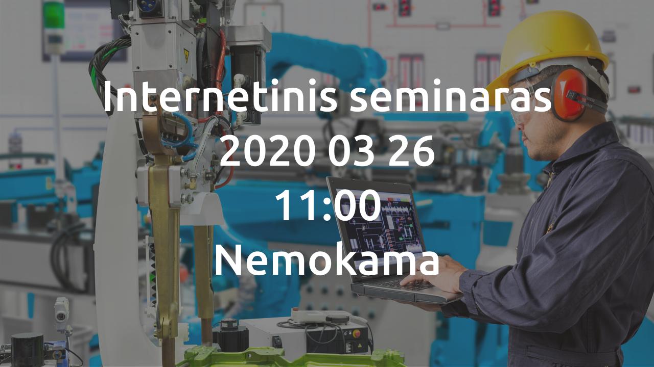 Internetinis seminaras | Dinaminės gaminių specifikacijos visoje grandinėje | Softera