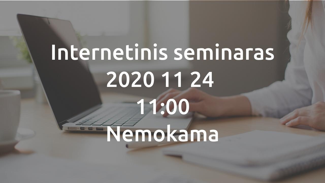 Internetinis seminaras | Kasdienis darbas: paprastai, greitai ir patogiai | Softera